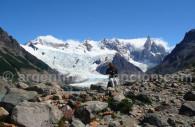 Torres glacier,Fitz Roy