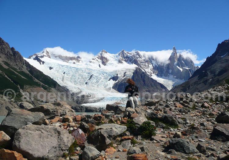 Glacier Torres, massif du Fitz Roy