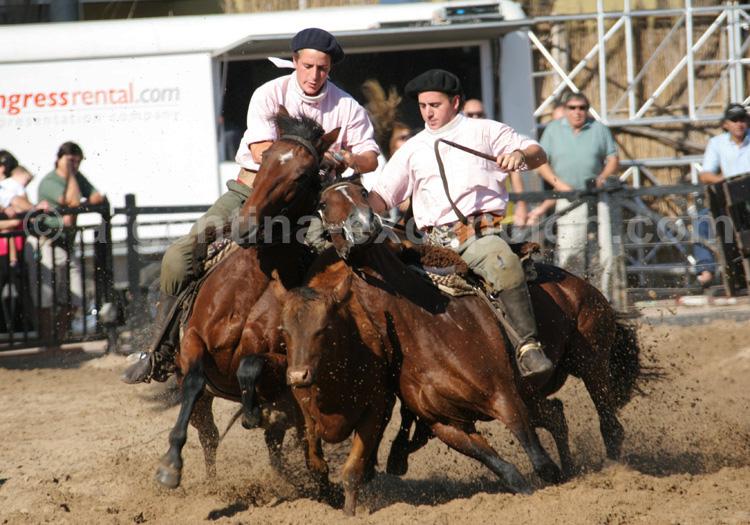 Gauchos, La Rural, Argentine avec Argentina Excepción