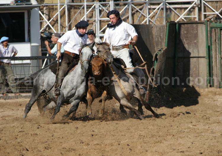 Gauchos La Rural avec Argentina Excepción