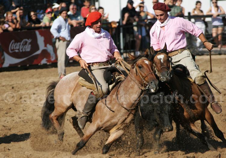 Gauchos vaqueros, La Rural avec Argentina Excepción