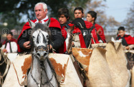 Homenaje al General Guemes en Argentina