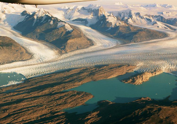 Glacier Upsala. Credit Glaciarium