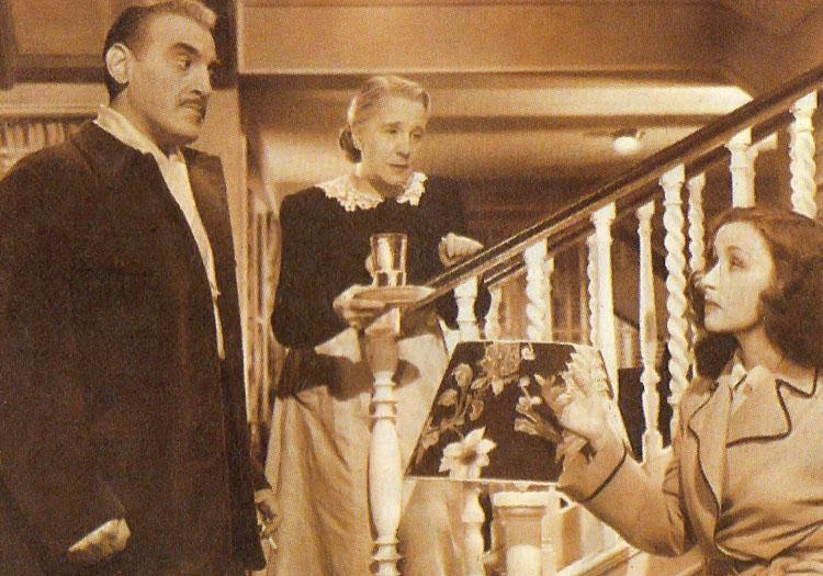 Gloria Ferrándiz y Tita Merello 1950