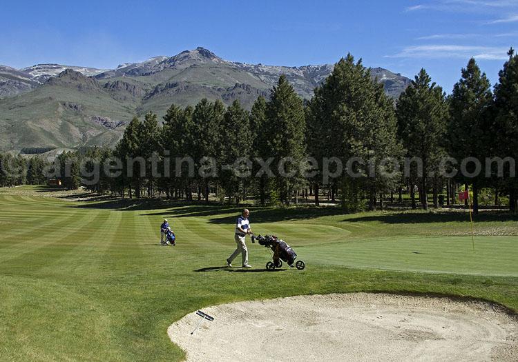 Parcours de golf de Chapelco, Patagonie