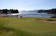Golf course in Llao Llao