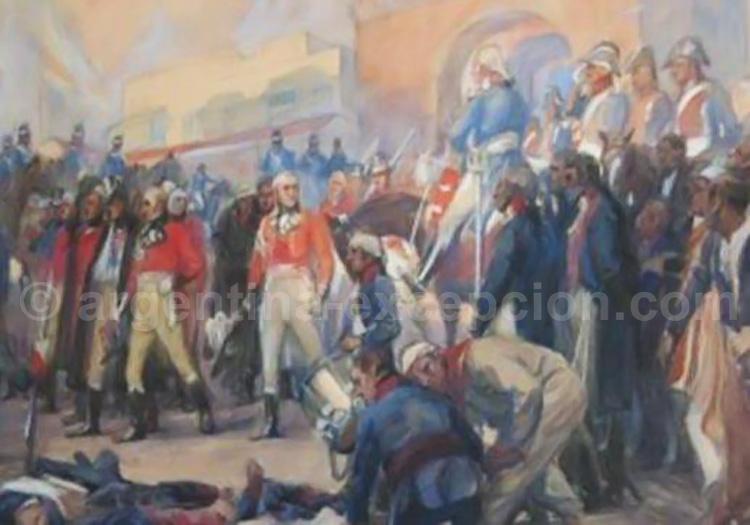 La Defensa par Charles Fouqueray (1869-1956) Cabildo de Buenos Aires