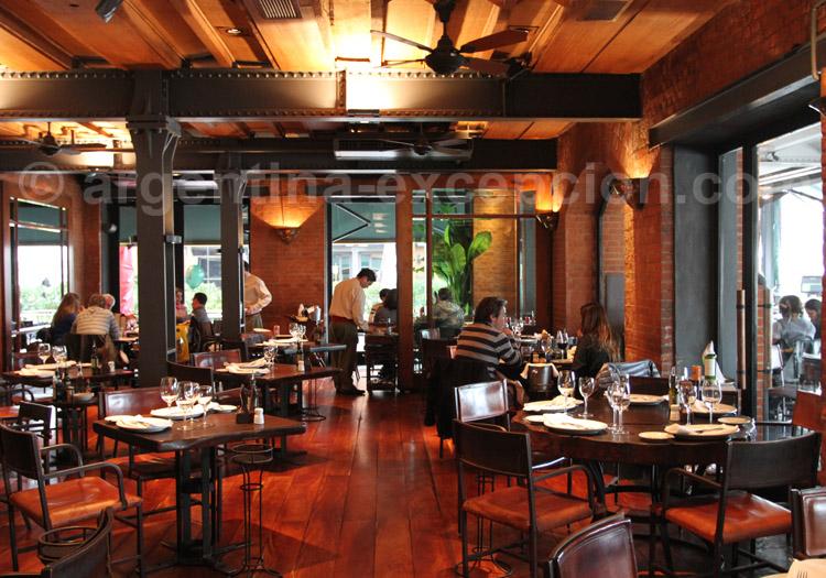 Restaurant Las Cabañas Las Lilas, Puerto Madero
