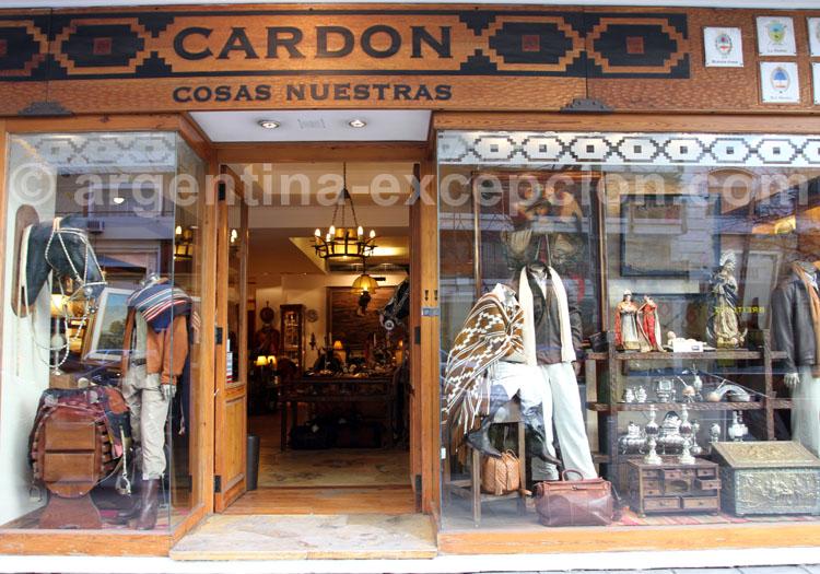 Boutique Cardon, Cosas Nuestras