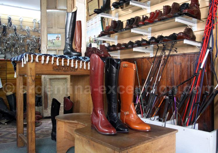 Boutique Casa Walton, Belgrano, fabriquant de bottes de cheval