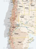Mapa Ruta 40