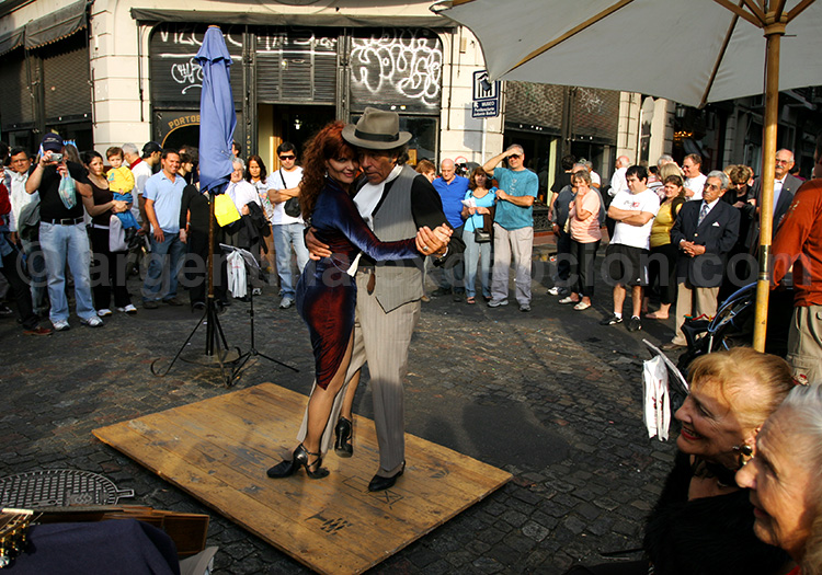 La milonga dans la rue, Buenos Aires