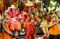 Music in the carnival of Gualeguaychu
