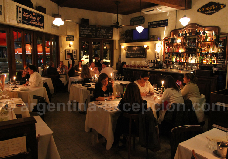 Restaurant Novecento, Las Cañitas