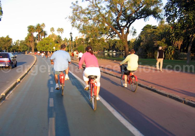 Visite de Palermo à vélo