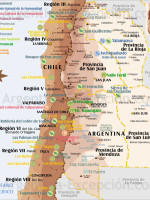 Parques de Cuyo y centro Chile