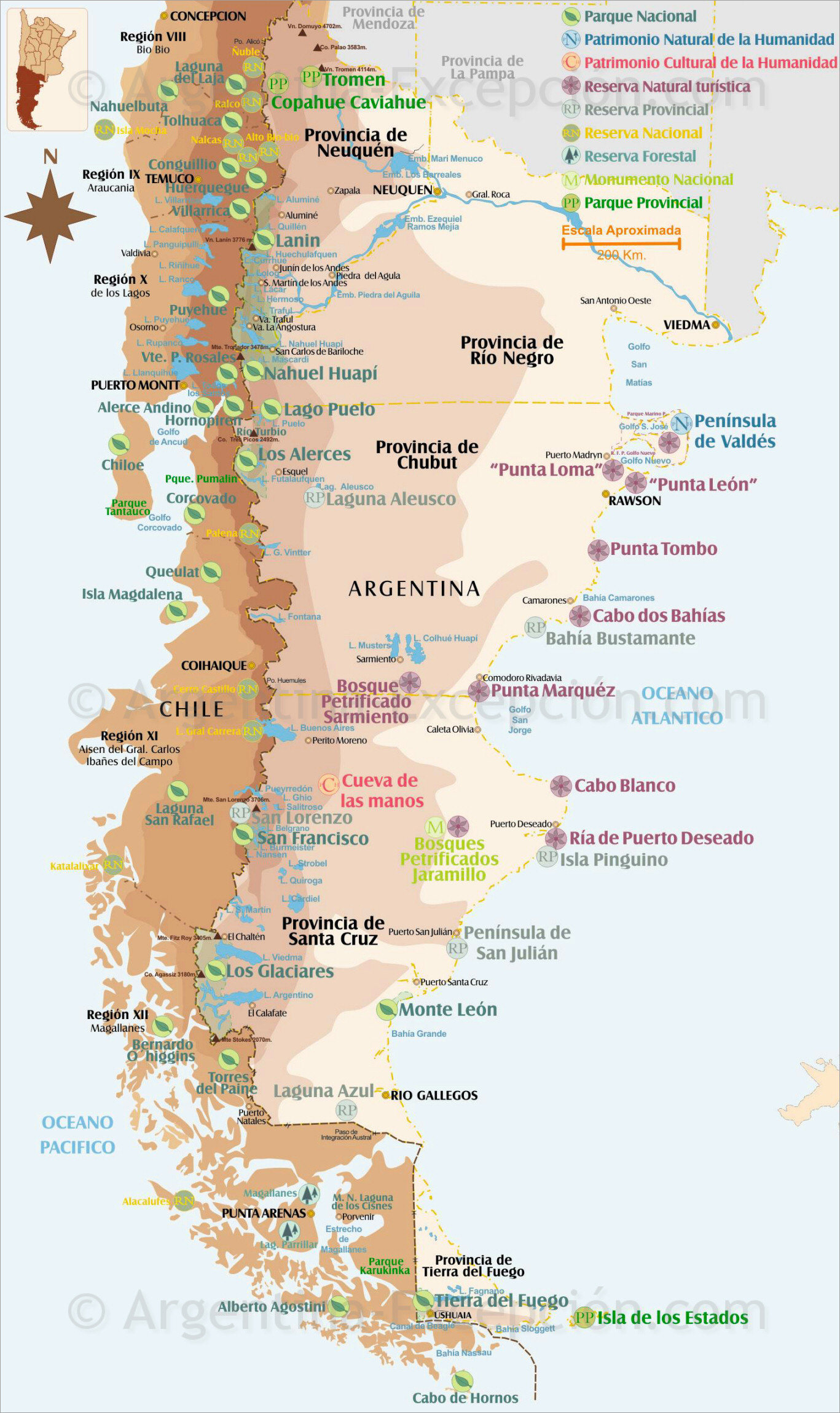 Map of Patagonia National Parks and Natural Reserves Map Of Argentina And Chile on map of copiapo chile, map of nuclear power plants in the world, map of patagonia chile, map chile argentina border, political map of chile, ecuador and chile, map of el cono sur, map of southern chile, map of patagonia region, map of peru, map of chile with cities, printable map of chile, political leader of chile, map show patagonia, detailed map of chile, street map of villarrica in chile, map of chile coast, people from chile, map of chile and hawaii, large map of chile,