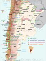Parques y reservas en Argentina