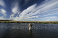 Kau-tapen river in Patagonia
