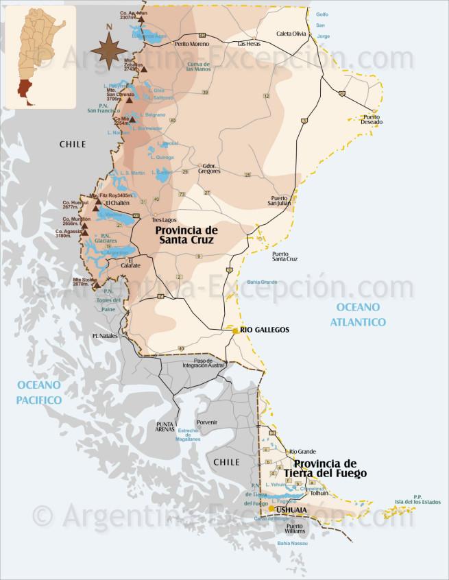 Patagonia del Sur