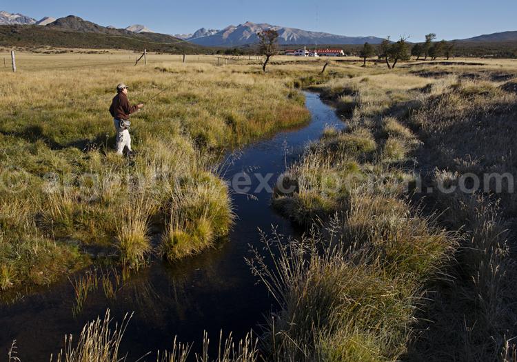 Pêche en Patagonie, estancia Tres Valles