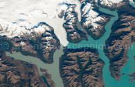 Ice cap and Perito Moreno