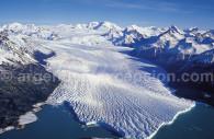 Manto de hielo y Glaciar Perito Moreno