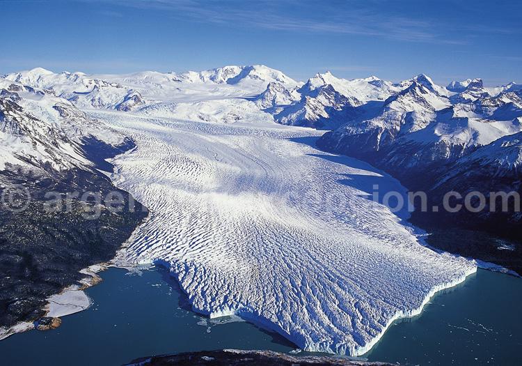 Grand champ de glace et glacier Perito Moreno