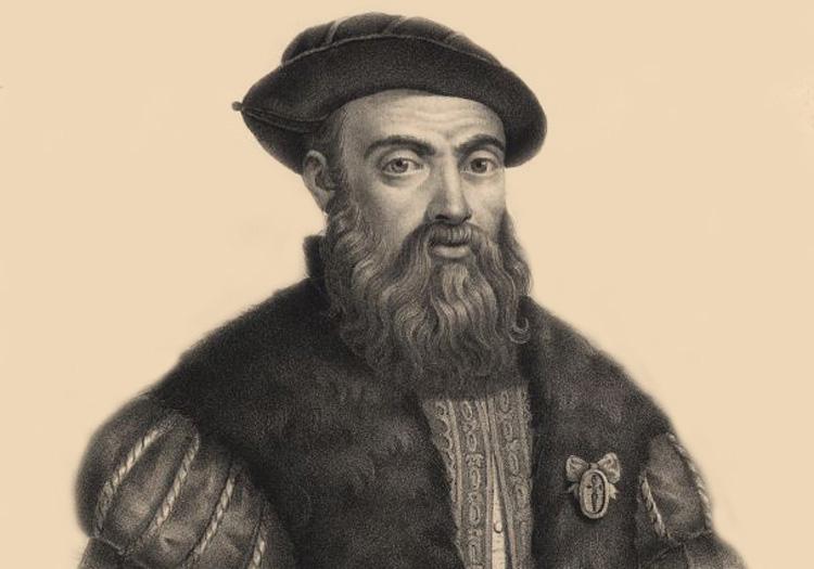Portrait de Magellan, Bibliothèque Nationale du Portugal