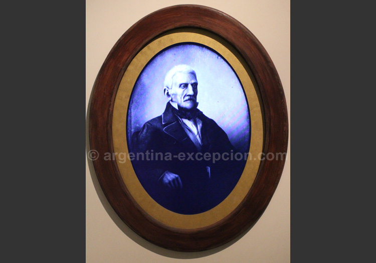 Portrait interactif Général San Martin, Musée d'Histoire Nationale, Buenos Aires