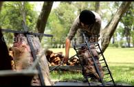 Préparation de l'asado, La Bamba de Areco