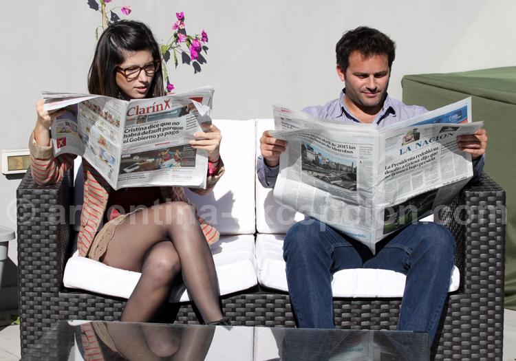 Informations presse Argentine