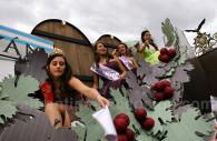 Fiesta popular de la vendimia en Mendoza