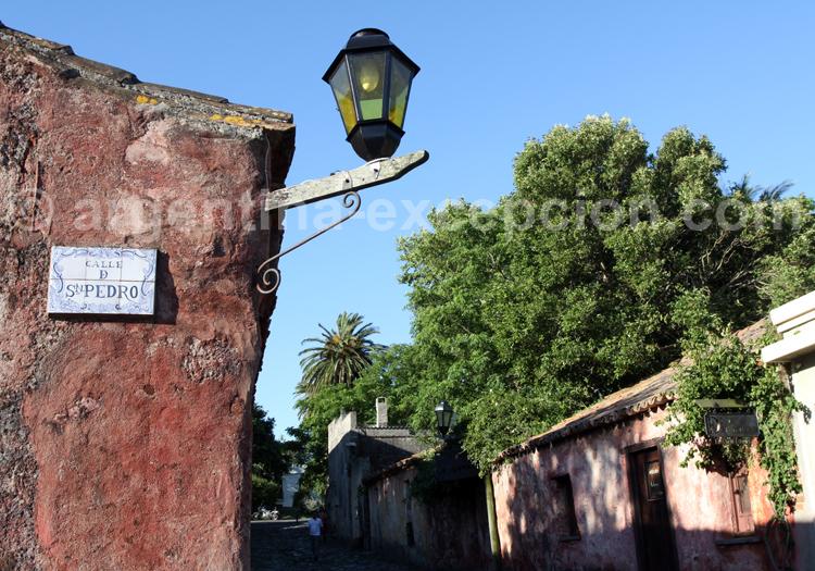 Rue San Pedro, Colonia, Uruguay