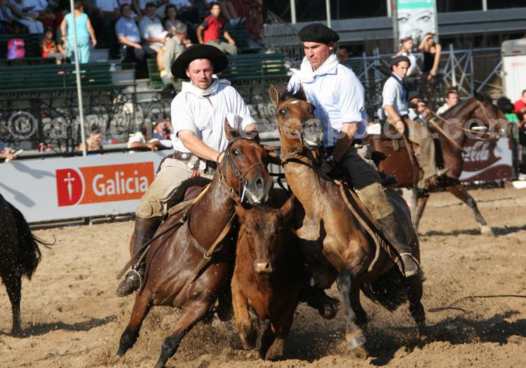 Salon cheval La Rural, avec Argentina Excepción