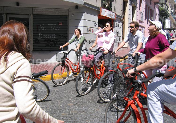 Visite de San Telmo à bicyclette