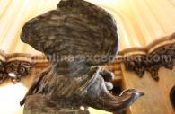 La réplique de la statue de Palanti