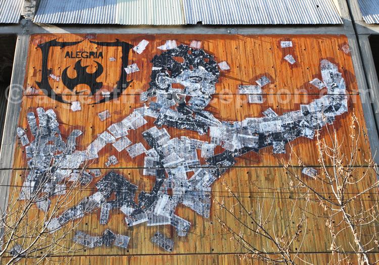 Street-art et landmarketing, Barracas
