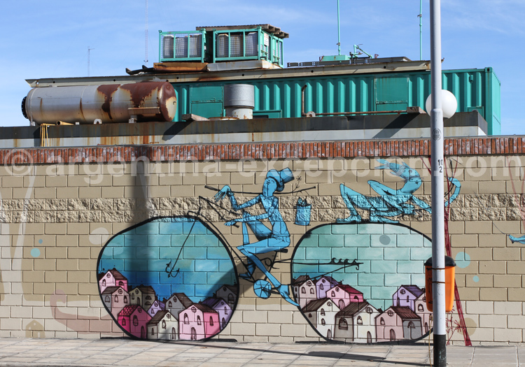 Barracas, friches industrielles et street-art