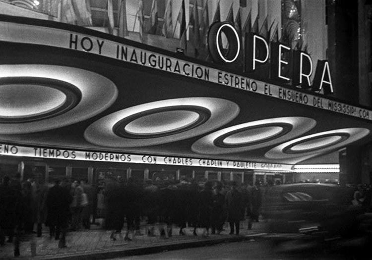 Théâtre Opera en 1936 Crédits Wikimedia Commons