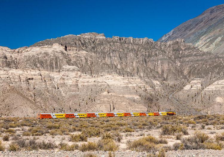 Train des nuages, Salta