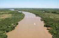 Survol du fleuve Paraná
