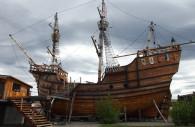 Le vaisseau Nao Victoria Punta Arenas