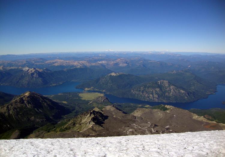 Au sommet du volcan Lanin. CC Flickr pfsuarez