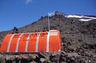 Refugio RIM, volcán Lanín - CC flickr pfsuarez