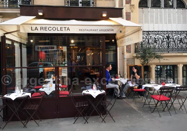 Recoleta, restaurant argentin à Paris