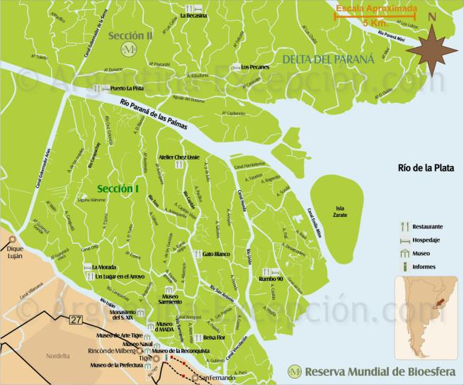 Sección 1 Delta del Paraná