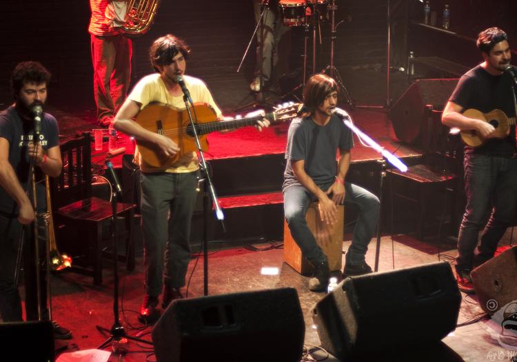 Onda Vaga en concert au Niceto Club, Flick Bononobo