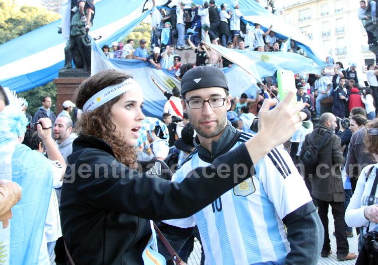 Mundial de futbol, Argentina