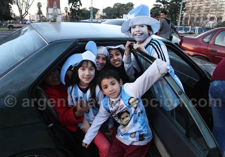 Formalités d'entrée en Argentine pour les enfants
